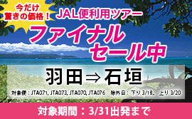 JAL FINALセール